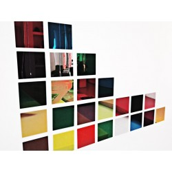 Set 6 espejos de colores