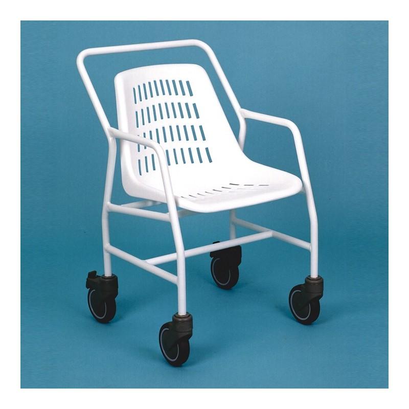 Silla de ducha classic silla de ducha con ruedas silla - Duchas con asiento ...
