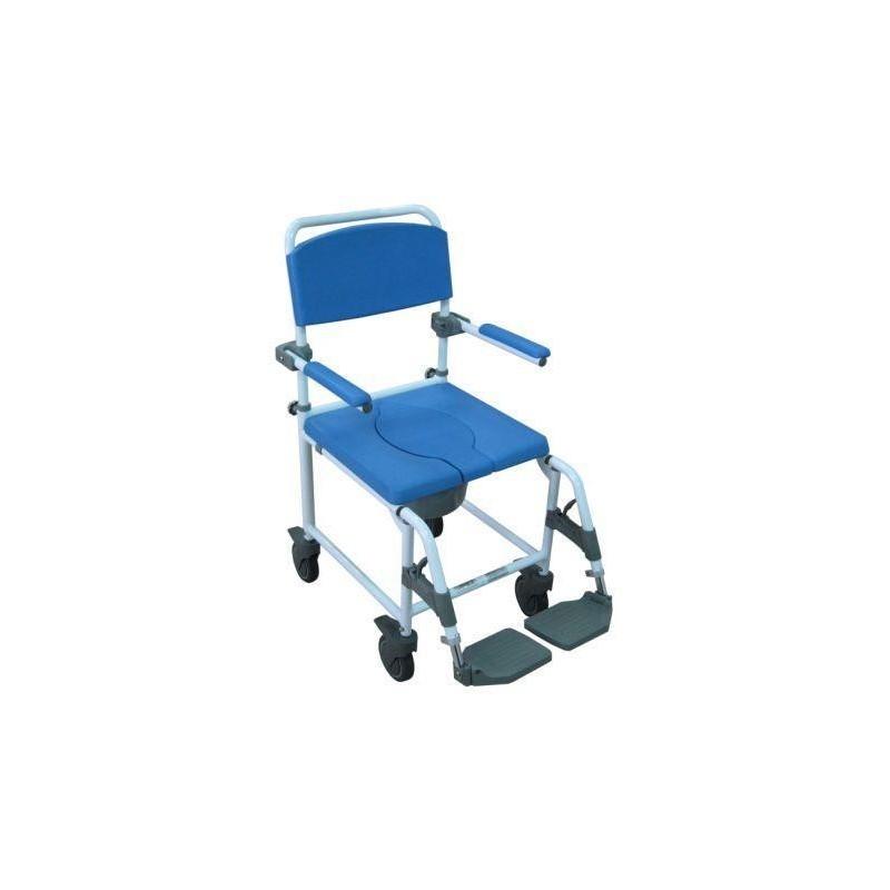Silla de ducha apex silla de ducha con ruedas silla de for Sillas para inodoros