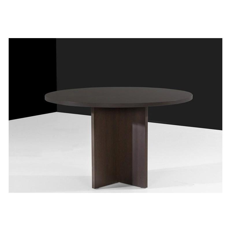 Mesas mobiliario de oficina armarios cajones rodantes for Mesa redonda blanca 120 cm