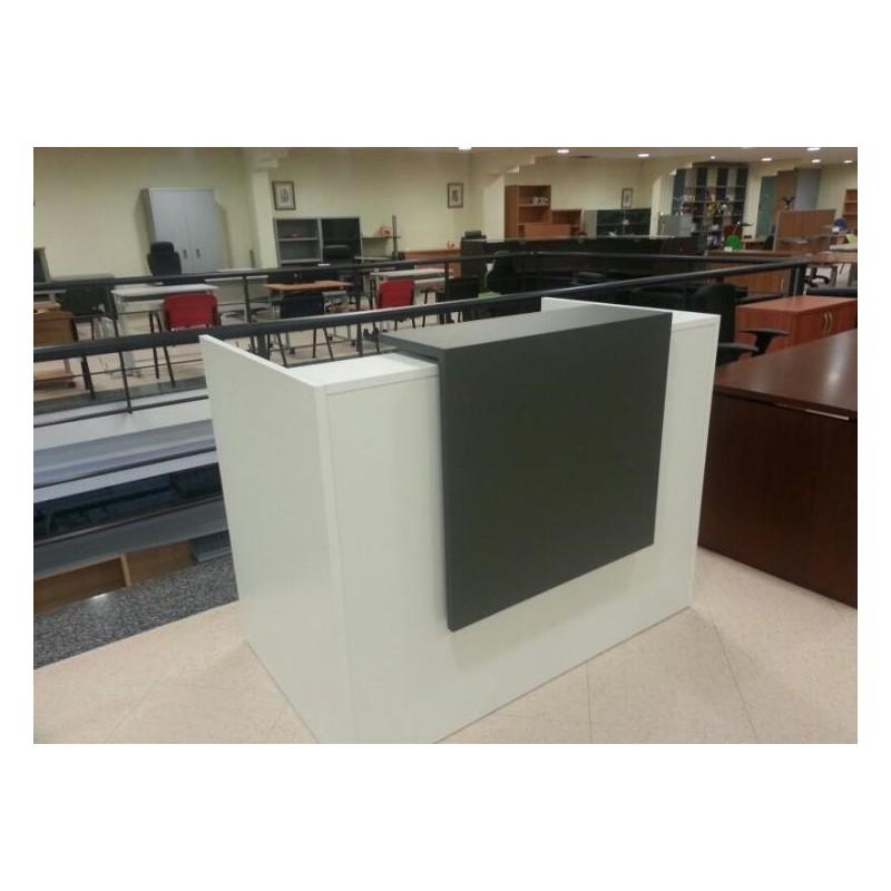 Mesas mobiliario de oficina armarios cajones rodantes for Mobiliario recepcion oficina