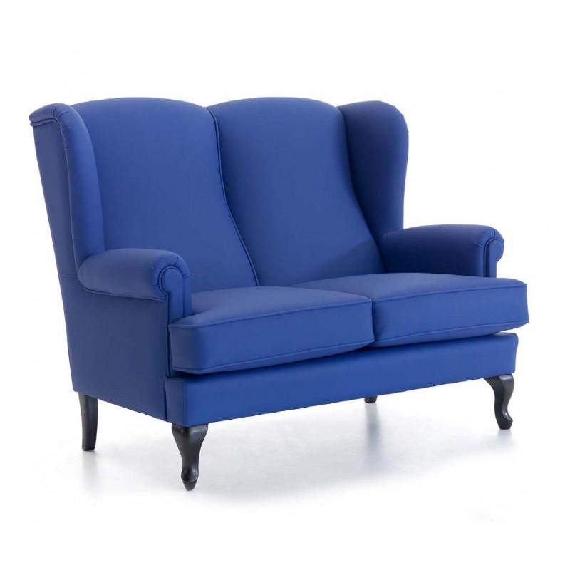 Sofa orejero dos plazas sillon geriatrico mobiliario for Sofas de dos plazas