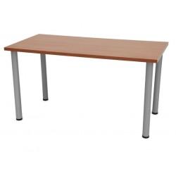 Mesa rectangular colectividades con patas aluminio