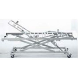 Somier electrico Alegio NG 4 planos c/cremallera, kit transporte, ruedas 100 mm. frenos independientes