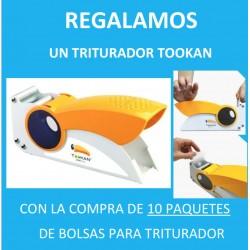 Promoción 10.000 bolsas de polietileno REGALO triturador manual Tucán