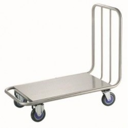 Carretilla acero inox. baranda simple