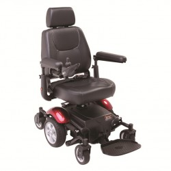 Silla de ruedas eléctrica 'R300' roja