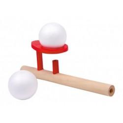 Juego de soplo pelota