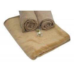 Manta lisa color uniforme de fibra 450 gr/m2 térmica classic 80 cm.