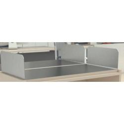 Bandeja metálica sobre mueble 3.0 80 x 38 x 10 cm.