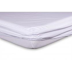 Sábana bajera ajustable 150 x 190 cm 50% algodón 50% poliester.