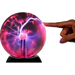 Bola de Plasma XL Interactiva