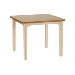 Mesa rectangular en haya 90X160 cm comedor lectura o terapia