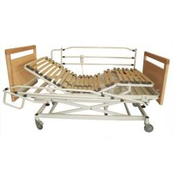 Conjunto cama articulada 4 planos y elevación eléctrica Haya