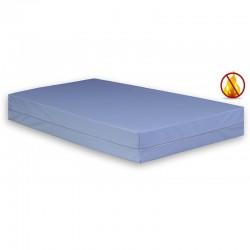Funda de colchón PU impermeable anti-ácaros ignifuga saniplus biolastic 80 x 190 x 14/15 cm.