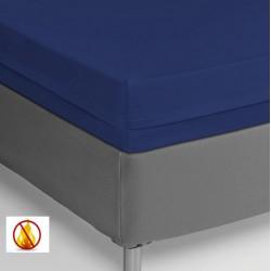 Funda colchón PU sanitized impermeable ignífuga azul 90cm