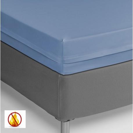 Funda colchón Pu 150x190x25cm ignífuga sanitaria