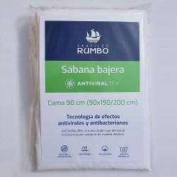 Sábana bjera AntiviralTex percal Algodón de 150 hilos
