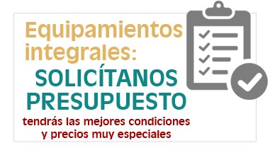 Equipamiento integral de centros geriátricos, residencias geriátricas, Unidades de Estancia Diurna, Hogares Tutelados...