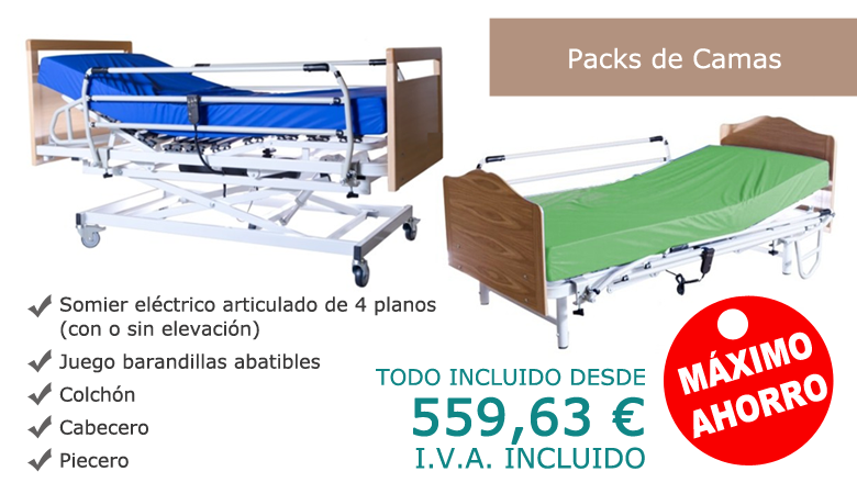 Pack camas