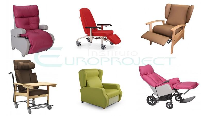 Sillones geriatricos, relax, elevables, manuales o motorizados